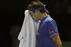 Federer thua Nishikori trận ra quân ATP Finals 2018