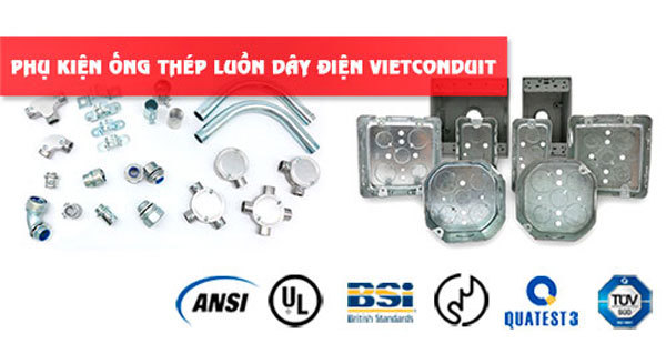 Ống thép luồn dây điện Vietconduit - Giải pháp hoàn thiện công trình