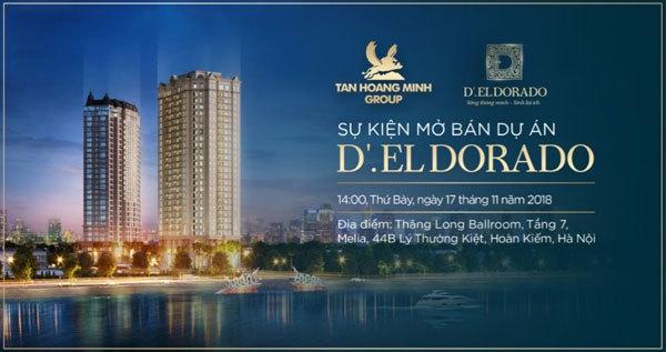 1,2 tỷ đồng quà tặng tại lễ mở bán D'. El Dorado