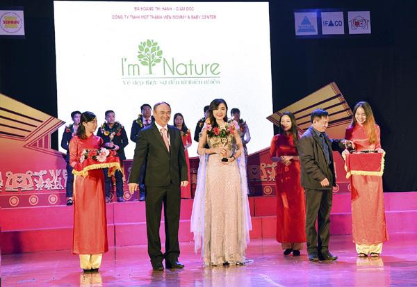 CEO I'm Nature - Top 30 Doanh nhân tiêu biểu Đông Nam Á