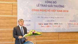 Công bố Giải thưởng Công nghệ số Việt Nam 2018