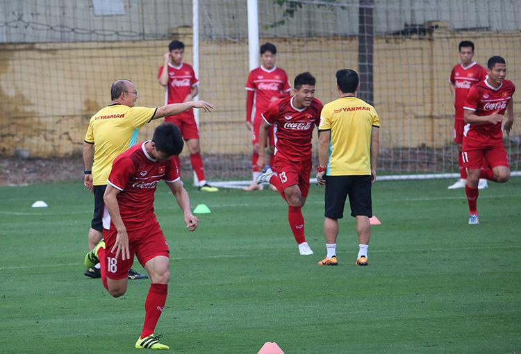 Đội tuyển Việt Nam,Đội tuyển Malaysia,HLV Park Hang Seo