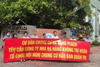 10 năm sống kiếp '3 không', cư dân Danang Plaza lần đầu có ban quản trị