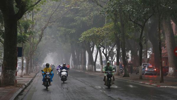 Dự báo thời tiết 13/11: Hà Nội tiếp tục mưa rào sáng sớm - ảnh 2