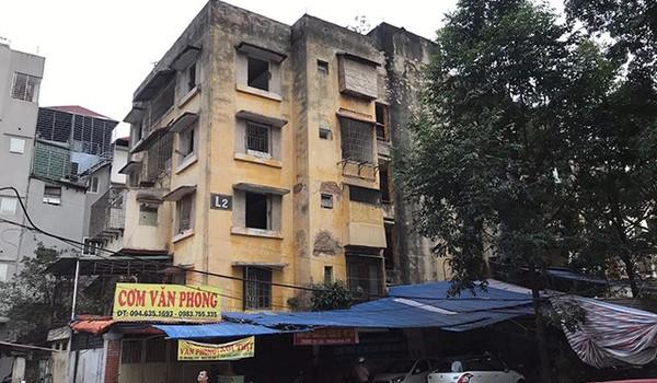 Hà Nội chuẩn bị đập chung cư bỏ hoang khiến nhiều người 'lạnh gáy'