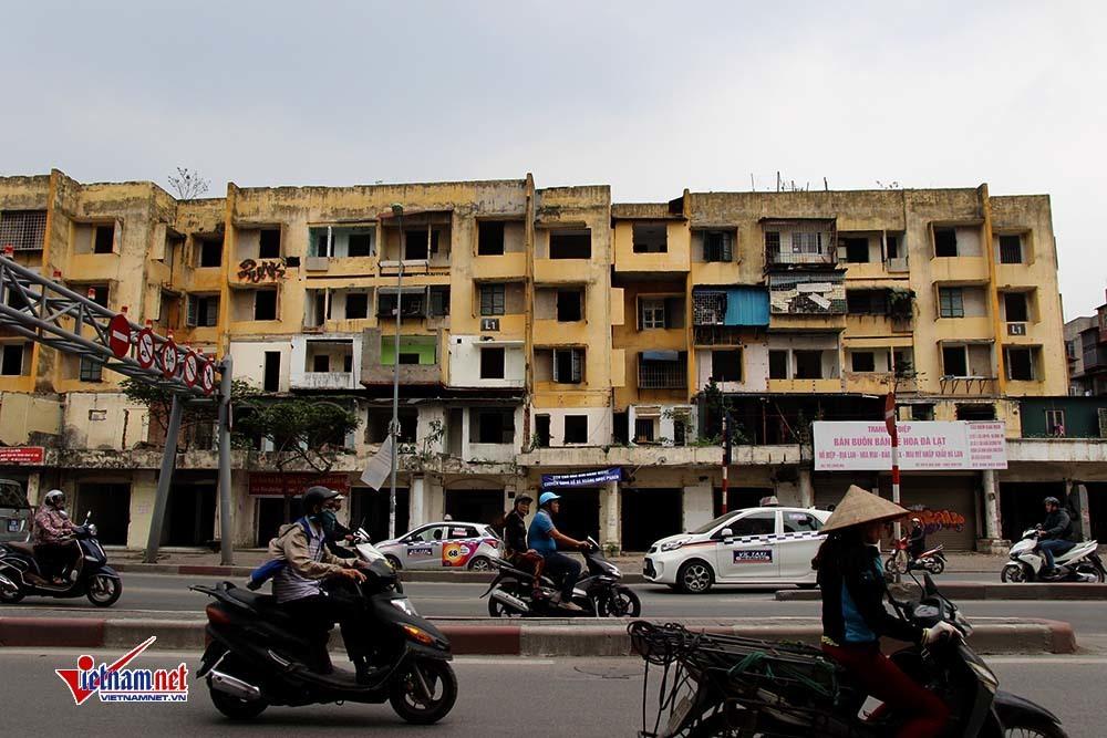 cải tạo chung cư cũ,chung cư 93 Láng Hạ,Vinaconex,giải phóng mặt bằng,cưỡng chế