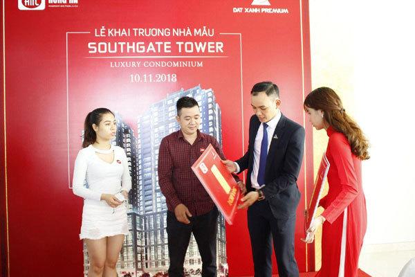 Mãn nhãn với căn hộ mẫu Southgate Tower