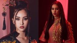 Tiểu Vy hát 'Lạc trôi' của Sơn Tùng trong phần thi tài năng tại Hoa hậu Thế giới