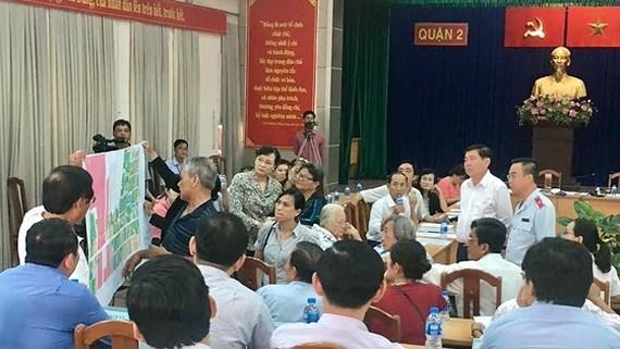 Thủ Thiêm,bản đồ Thủ Thiêm,TP.HCM,Nguyễn Thành Phong