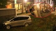 Ôtô tông liên hoàn loạt xe máy, 1 người chết, 4 người bị thương