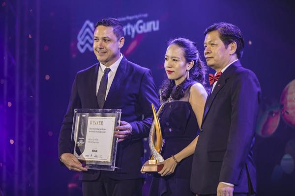 Kiến Á thắng ngoạn mục ở Asia Property Awards 2018