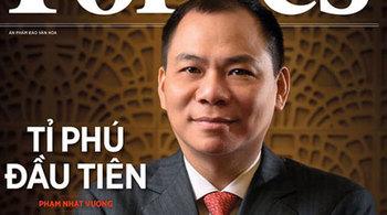 Ông Phạm Nhật Vượng có 7,5 tỷ USD: Đường đến Top 100 giàu nhất hành tinh