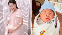 Hải Băng bị cảnh báo nguy hiểm vì mang thai lần 3 chỉ sau 1 tháng sinh mổ, ông xã cạo tóc cầu xin vợ bình an