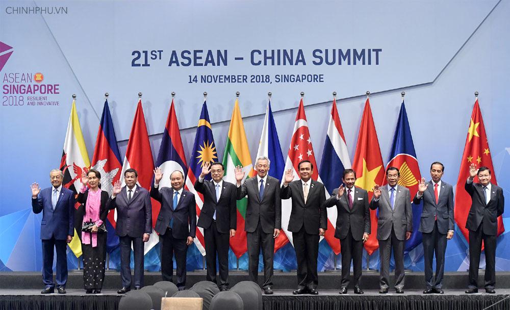 Thủ tướng Nguyễn Xuân Phúc,Nguyễn Xuân Phúc,ASEAN,ASEAN-Trung Quốc