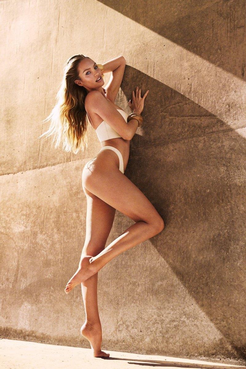 'Thiên thần nội y' mặc bikini khoe dáng chuẩn sau sinh con 5 tháng