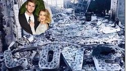 Hôn phu xúc động nói về căn nhà bị cháy rụi của Miley Cyrus