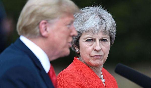 Hé lộ cuộc gọi khiến ông Trump nổi giận với Thủ tướng Anh