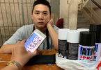 Vẽ bậy ở phố Tây, người đàn ông nước ngoài bị phạt tiền triệu