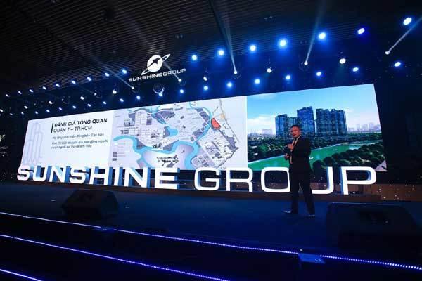 Sunshine Group ra mắt ấn tượng tại TP.HCM