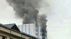 Hà Nội: Cháy tòa nhà 18 tầng trên đường Hoàng Quốc Việt