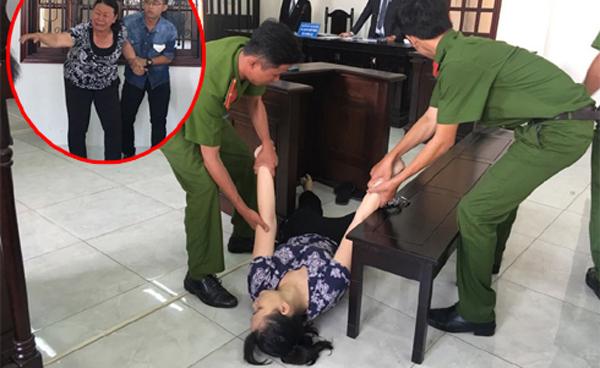 Bảo mẫu ngất xỉu khi tòa tuyên 18 tháng tù vì tát liên tiếp vào mặt trẻ