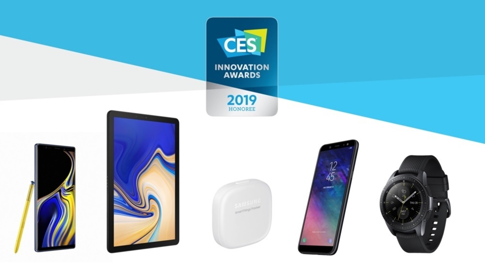 galaxy Note 9,CES Innovations Awards