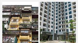 Tập thể cũ-chung cư mới: xem ảnh vội tích cóp đổi nhà