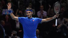 """Federer """"tốc hành"""" vào bán kết ATP Finals 2018"""