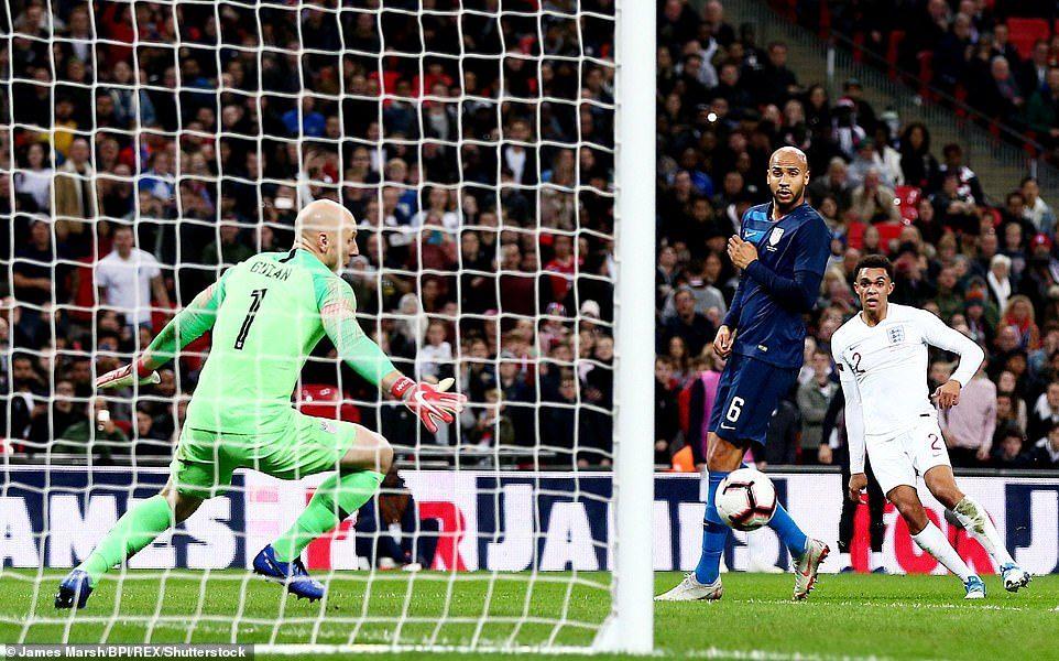 Rooney tái xuất, tuyển Anh vùi dập Mỹ