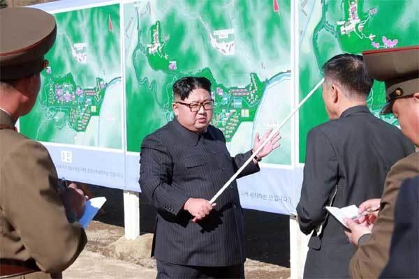 Triều Tiên,Kim Jong Un,thử vũ khí,tên lửa đạn đạo