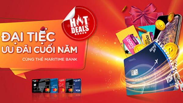Maritime Bank mở 'đại tiệc ưu đãi', tặng 8 iPhone Xs Max
