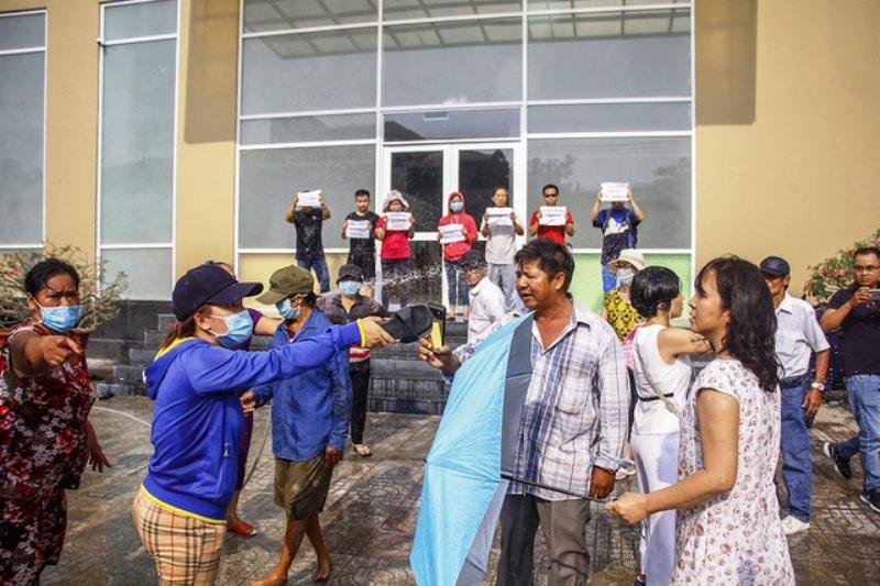 Topaz City,Công ty Vạn Thái,phòng cháy chữa cháy,Phó Thủ tướng Trương Hòa Bình