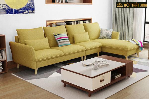 Cách chọn sofa nỉ mùa đông xoá tan định kiến màu sắc