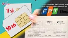 Hacker tung dữ liệu khách hàng FPT Shop, cắt liên lạc thuê bao 11 số