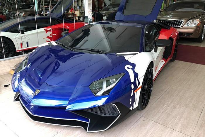 Minh Nhựa bán siêu xe Lamborghini Aventador SV 35 tỷ