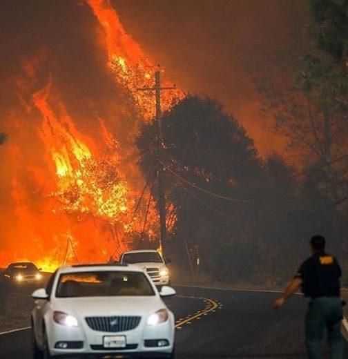 Mỹ,California,cháy rừng,tận thế