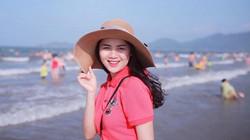 Nhan sắc hoa khôi Đại học Vinh - vợ cầu thủ Quế Ngọc Hải