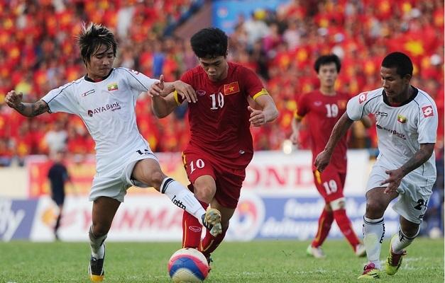Xem trực tiếp Myanmar vs Việt Nam ở kênh nào?