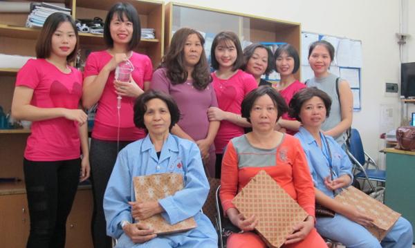 bệnh nhân ung thư,hoá trị,rụng tóc,Bệnh viện K