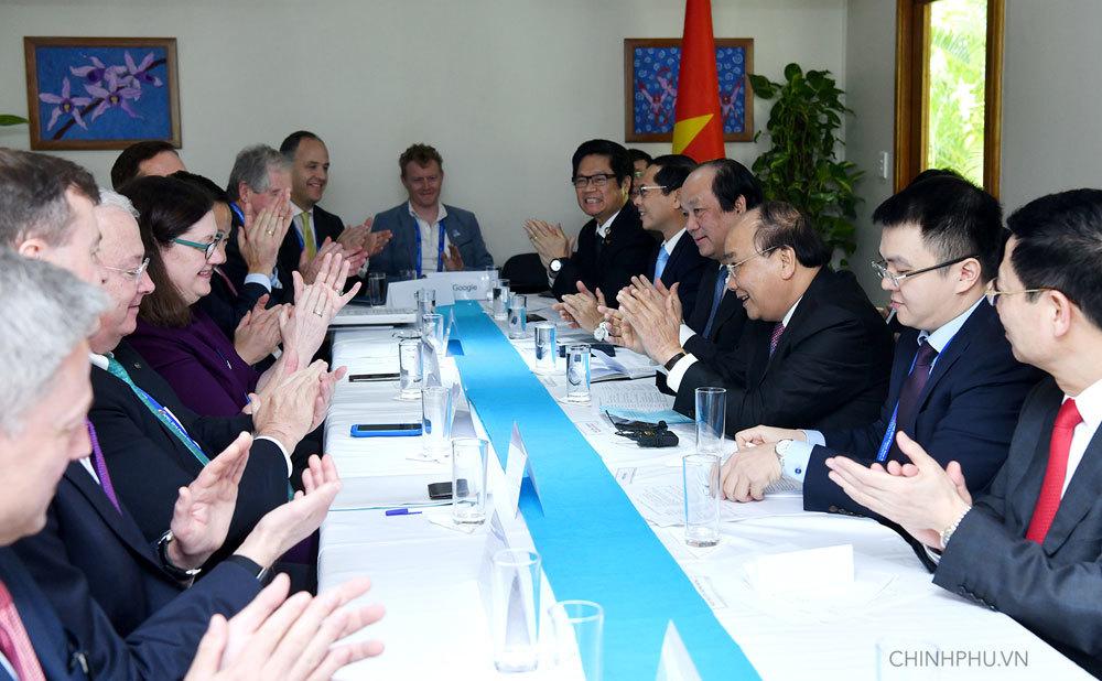 Thủ tướng muốn lắng nghe kiến nghị của doanh nghiệp Mỹ