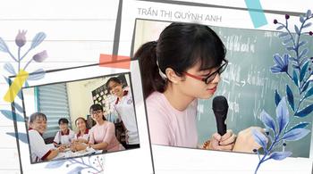 Cô giáo trẻ đánh thức sự rung động của học trò