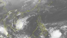 Áp thấp nhiệt đới gần bờ giật cấp 9