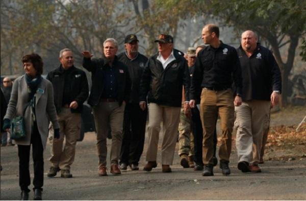 hỏa hoạn,cháy rừng,Donald Trump,California