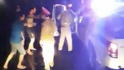 Bình Định: Xác minh vụ CSGT đánh nhau với lái xe chở bò