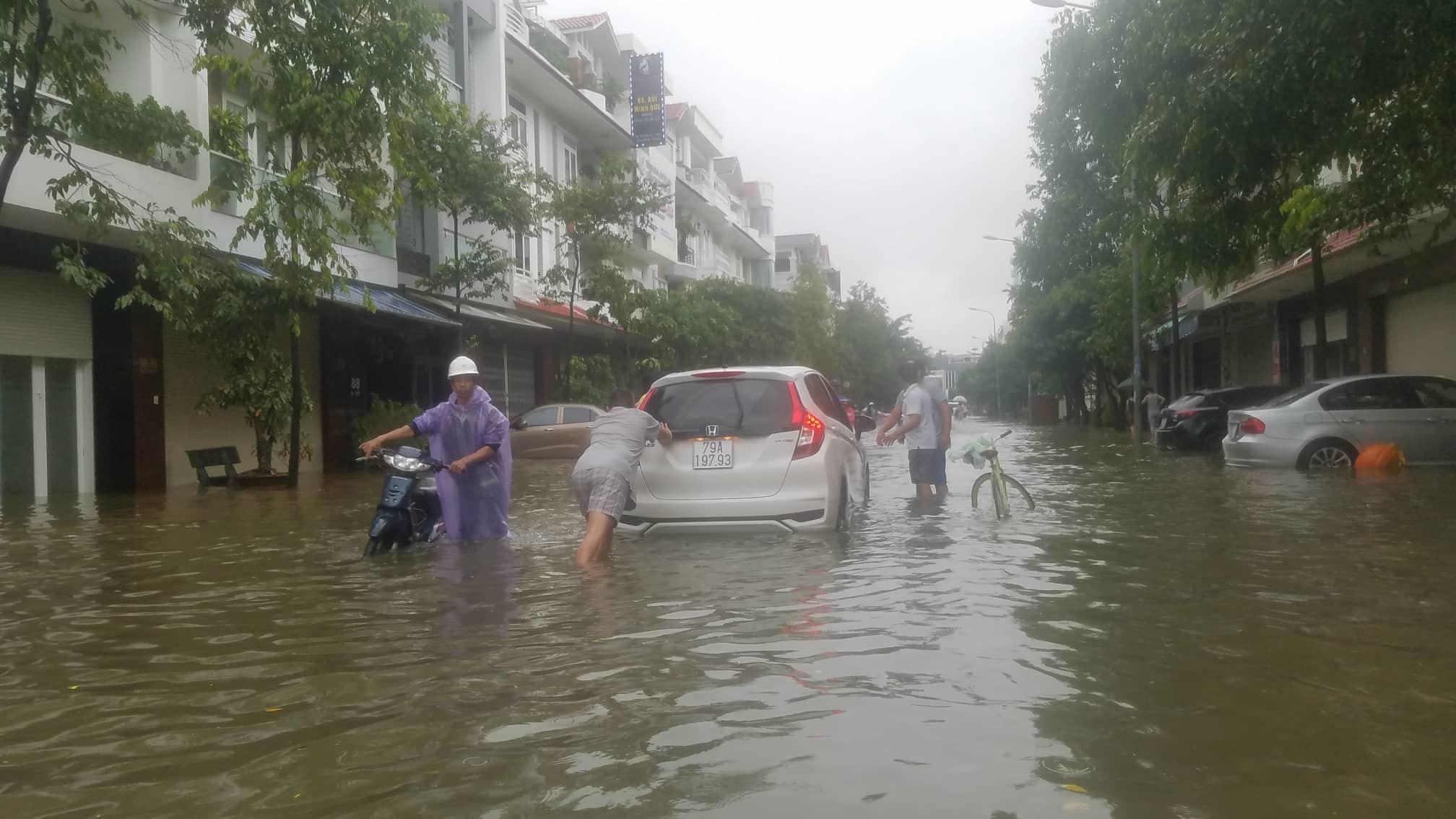ngập lụt,sạt lở đất,mưa lũ,mưa bão,Khánh Hòa,Nha Trang