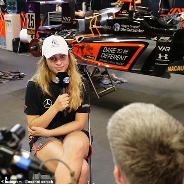 Nữ tay đua xinh đẹp 17 tuổi thoát chết sau tai nạn kinh hoàng