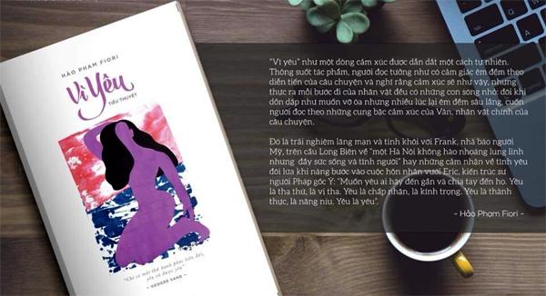 Mẹ bỉm sữa viết tiểu thuyết về chuyện tình gái Việt với trai Tây