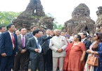 """President of the Indian Republic who visits the Mìche heritage """"width ="""" 145 """"height ="""" 101"""