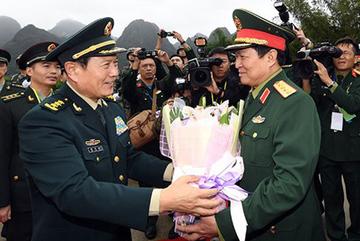 Bắt đầu giao lưu quốc phòng biên giới Việt-Trung lần 5