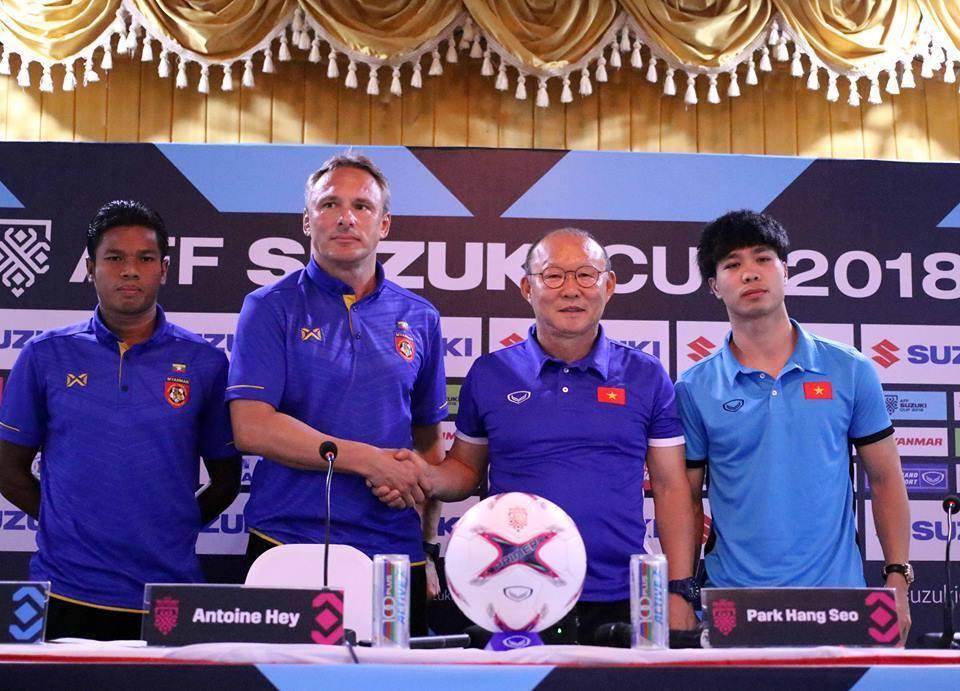 HLV Park Hang Seo: 'Việt Nam đến Myanmar để lấy 3 điểm'